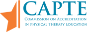 logo for commission on accreditation in physical therapy education