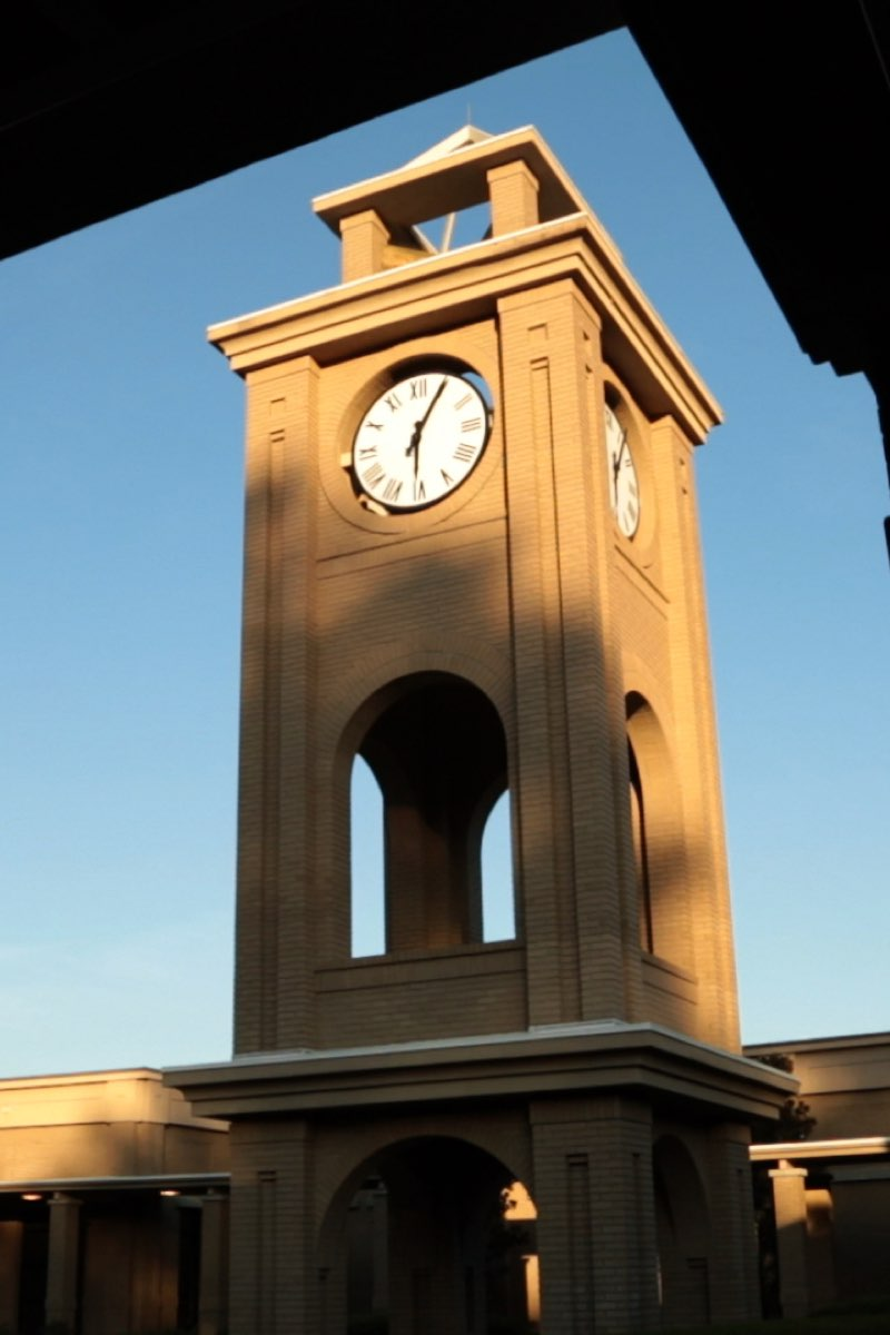 South University clock tower
